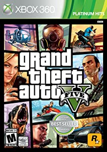 Grand Theft Auto V - Xbox 360: Rockstar Games: Video     - Amazon com