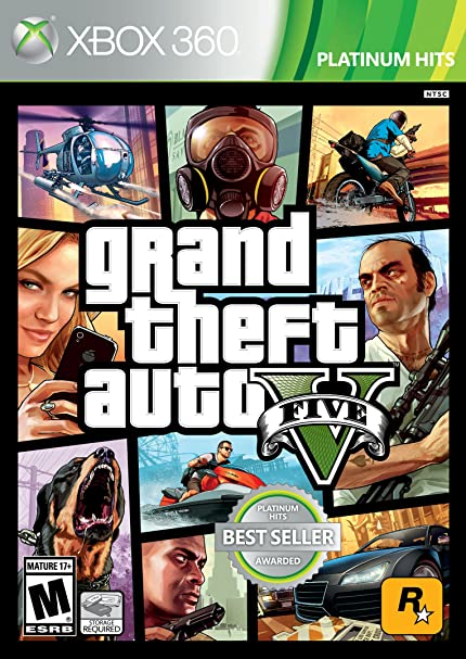 Amazon com: Grand Theft Auto V - Xbox 360: Rockstar Games: Video Games