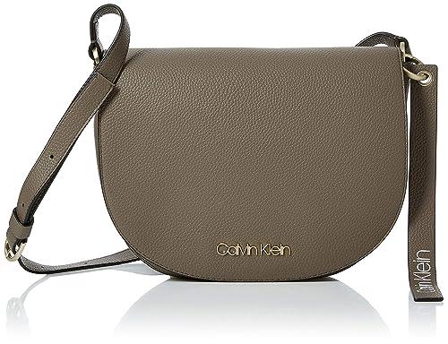 Calvin Klein Jeans Neat Medium Saddle Bag - Borse a tracolla Donna ... 41da65a08c1