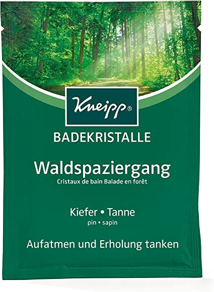 Sales de baño Kneipp Waldspaziergang 60g, 12-Pack (12 x 60 g): Amazon.es: Belleza