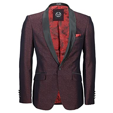 Xposed - Chaqueta de traje - Paisley - para hombre