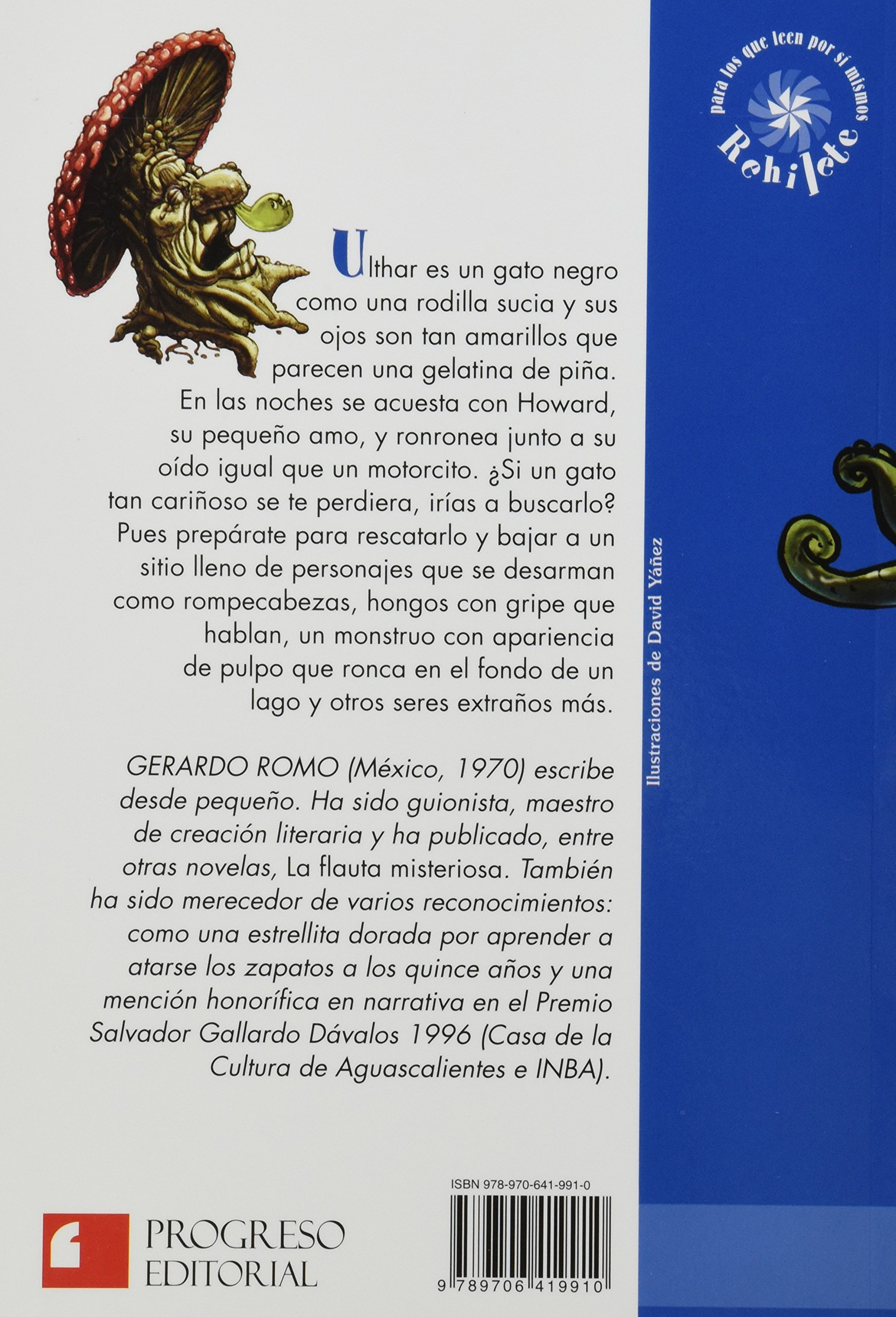 EXTRAÑO CASO DE ULTHAR EL GATO, EL: GERARDO ROMO: 9789706419910: Amazon.com: Books