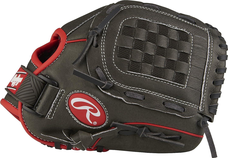 Unisex Rawlings Mark of a Pro Light Youth Guante de b/éisbol color Black//Gray Basket Web tama/ño 11-1//2 Lanzamiento de mano derecha