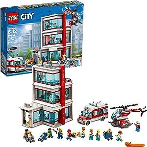 LEGO City Hospital 60204 Building Kit (861 Pieces)