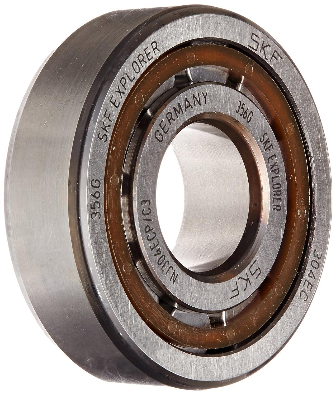 20 ID Stahl SKF Radialrollenlager Zylinderform