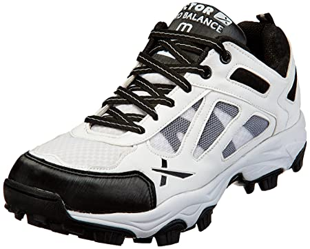 Vector X Pro Balance White Cricket Shoes Cricket Footwear at amazon