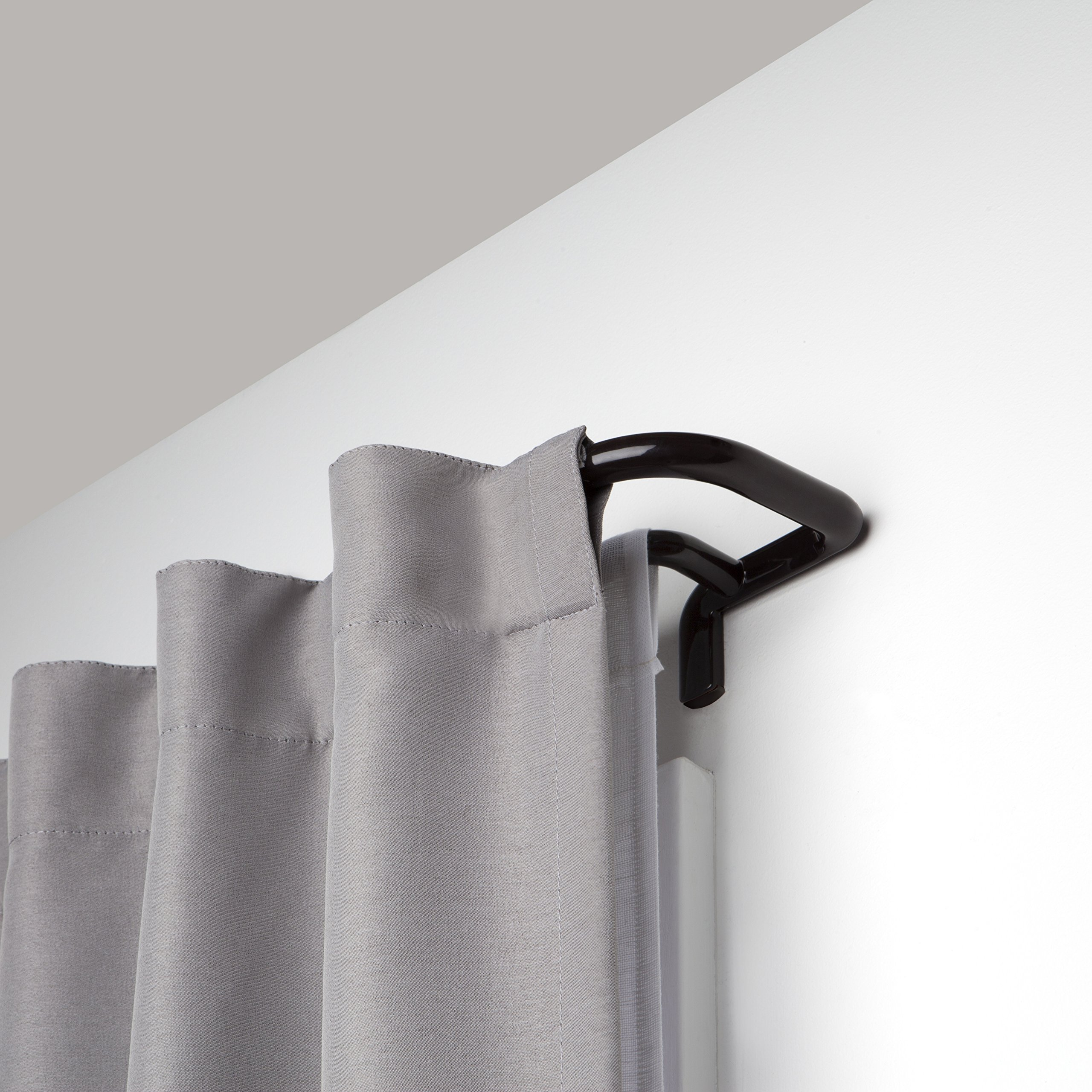 Umbra 1005892-797-REM Twilight Double Rod 48-88'' Twilight Room-Darkening Double Curtain Rod for Window, 48 To 88'' , Auburn Bronze