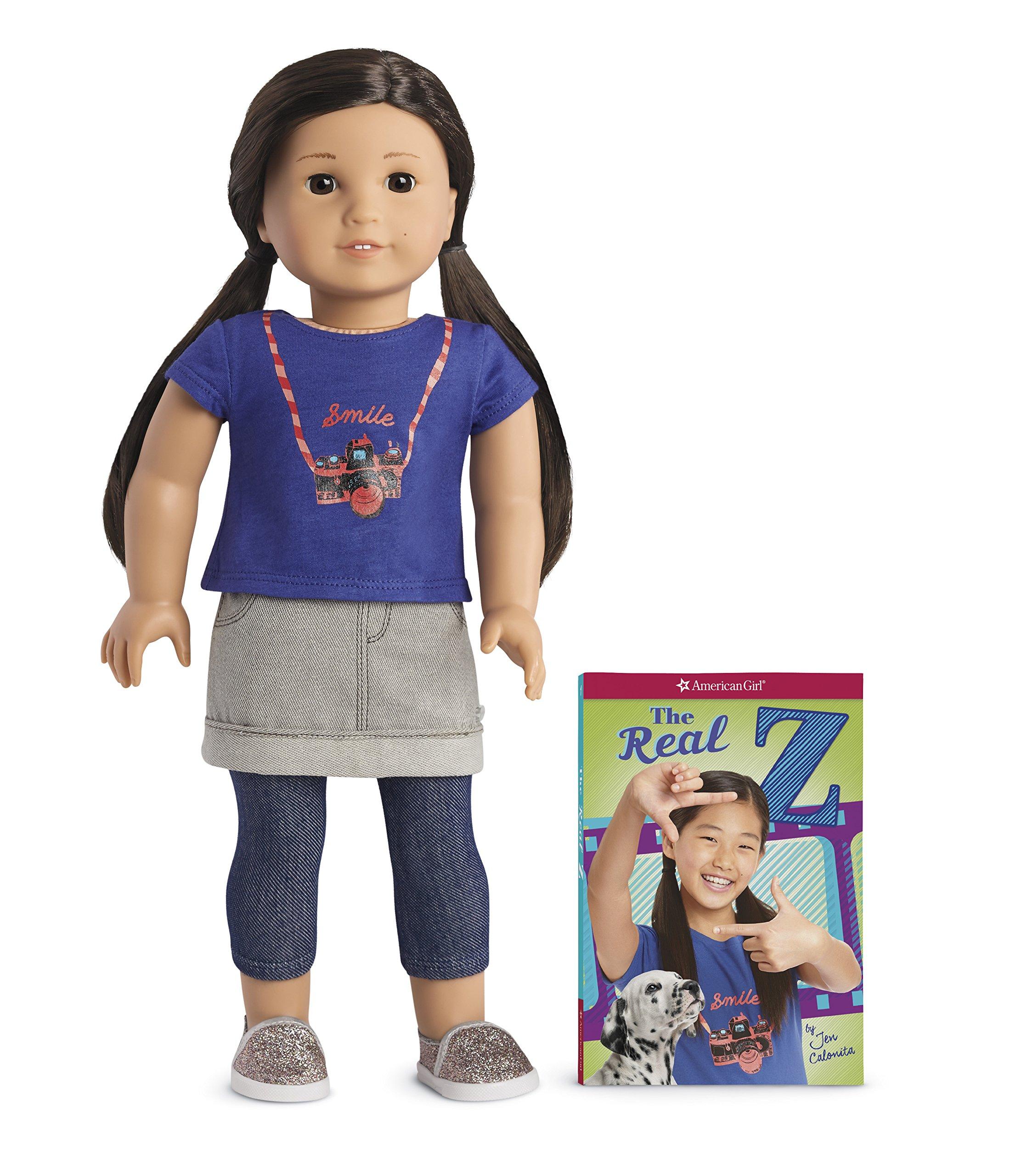 American Girl Z Doll & Book