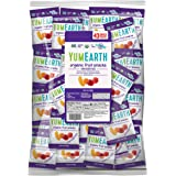 YumEarth Organic Vegan Fruit Snacks, 0.7 Ounce Snack Packs, 43 pack (Pack of 1) - Allergy Friendly, Non GMO, Gluten Free, Veg