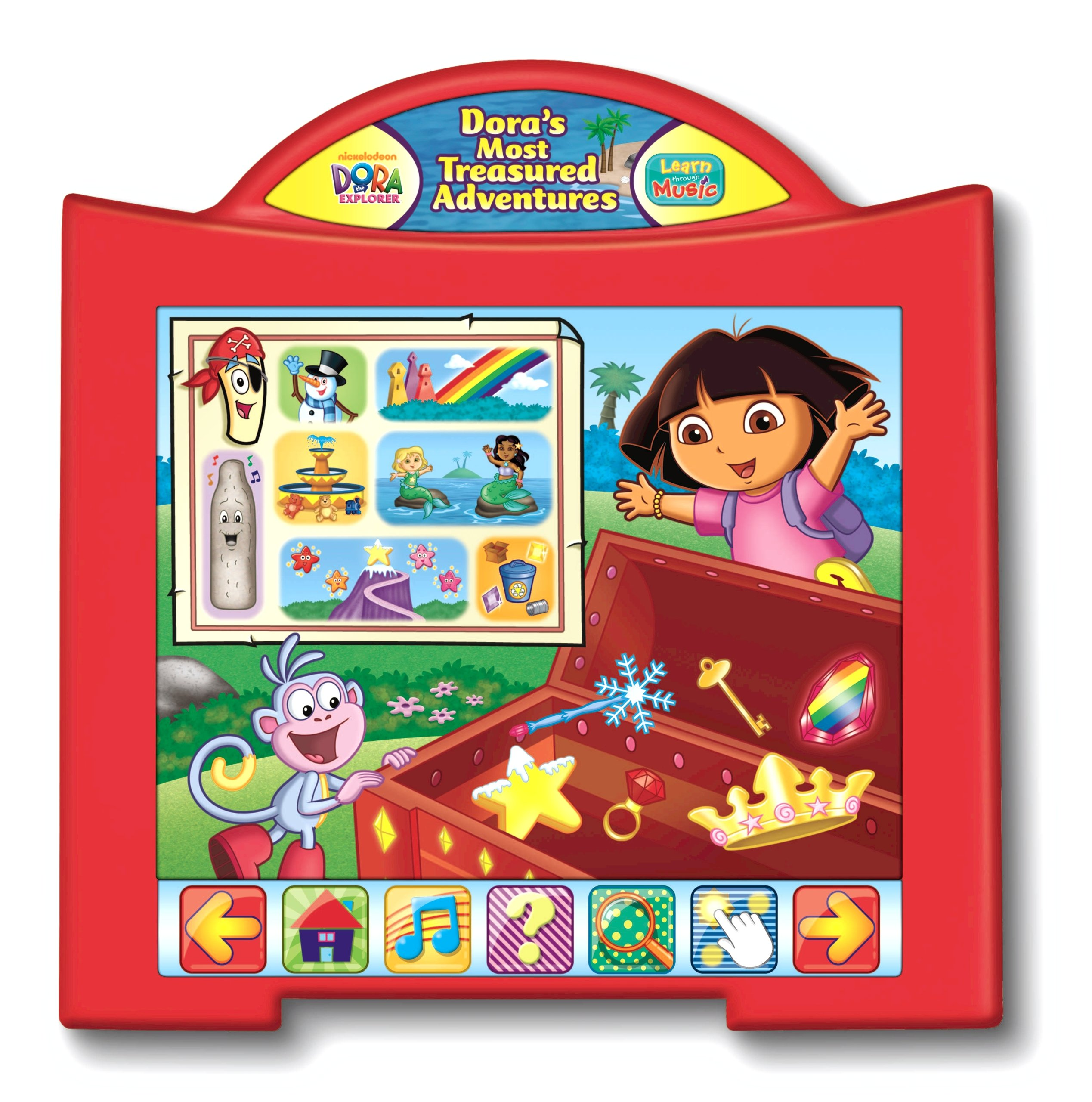 Fisher-Price Learn Through Music Touchpad Software - Dora's Most Treasured Adventures by Fisher-Price (Image #1)