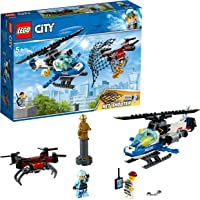 LEGO City Sky Police Drone Chase 60207 Building Toy