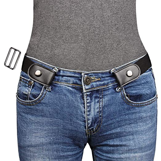 9d7faa49e3971 NPET No Buckle Stretch Belt For Women/Men, No Bulge No Hassle, All Size in  One