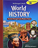 McDougal Littell World History: Ancient Through Early Modern Times © 2009 Pennsylvania: Student Edition 2009