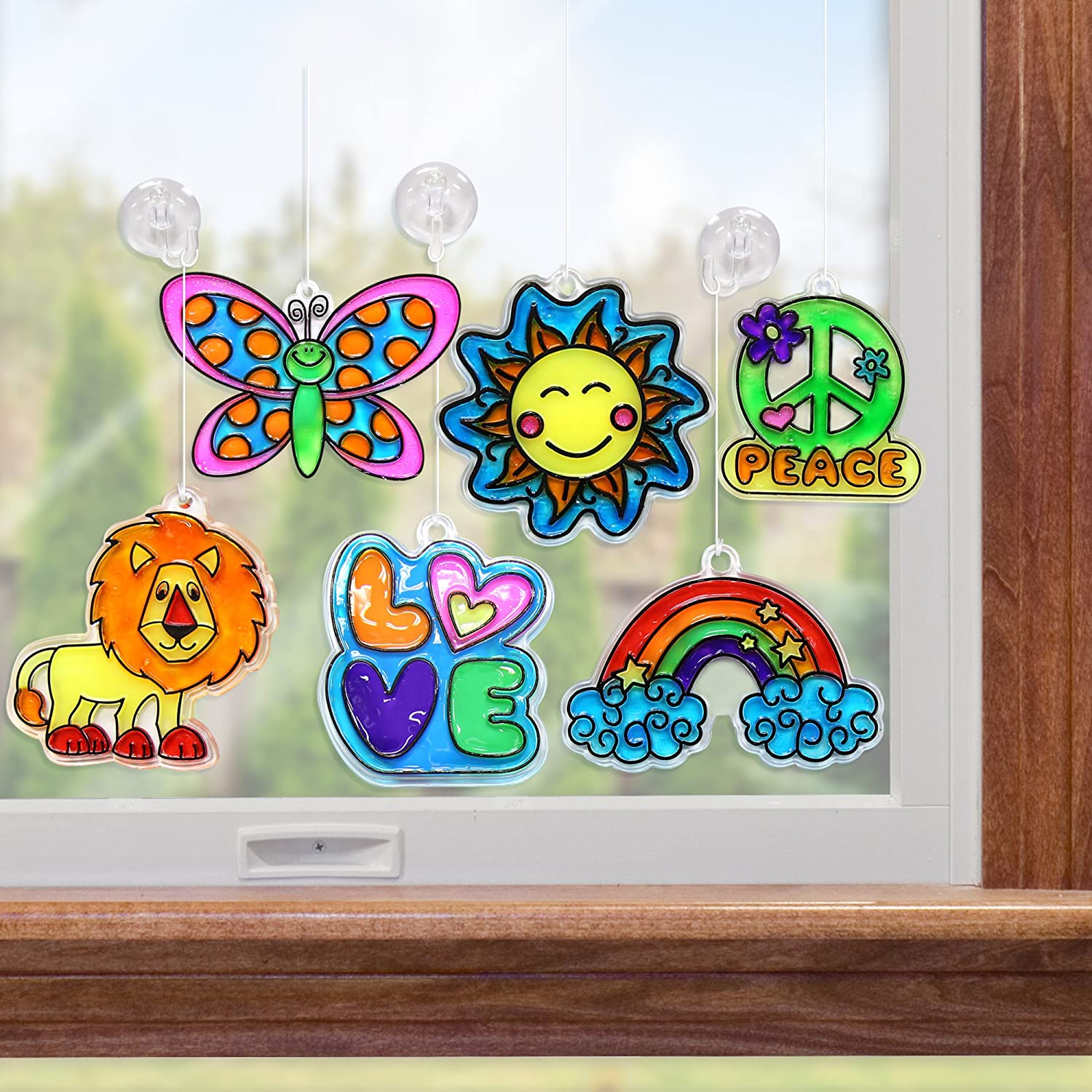 Made By Me Window Art ONLY $9.