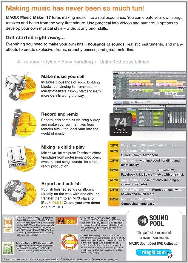 Magix Music Maker 17 (PC)