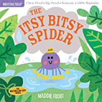 Indestructibles: Itsy Bitsy Spider: Chew Proof - Rip Proof - Nontoxic - 100% Washable (Book for Babies, Newborn Books…