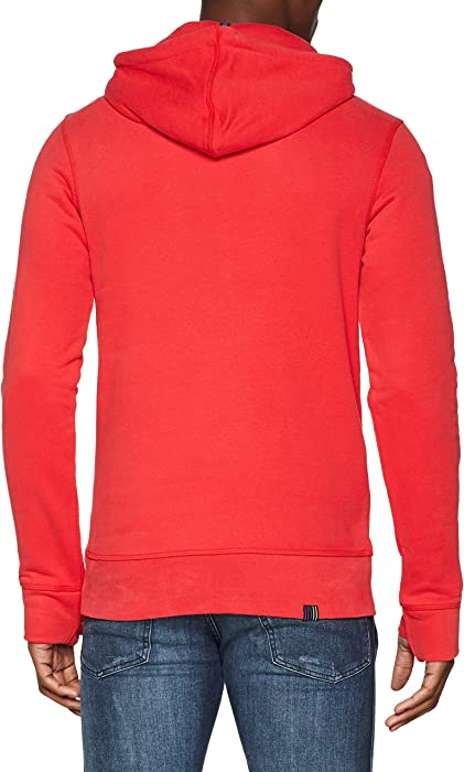 Rosso red Sweat Bench Amazon Large Her Rd012 Uomo Cappuccio nxXxOqIwHU 0815b7195bc6