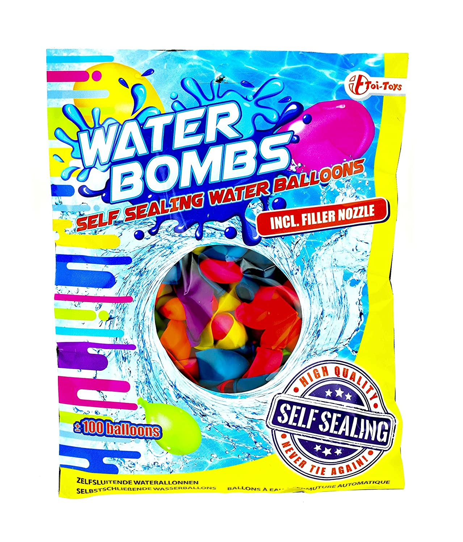 Kinderbadespaß-Spielzeuge ZURU Bunch o Balloons Wasserbomben 100er günstig kaufen