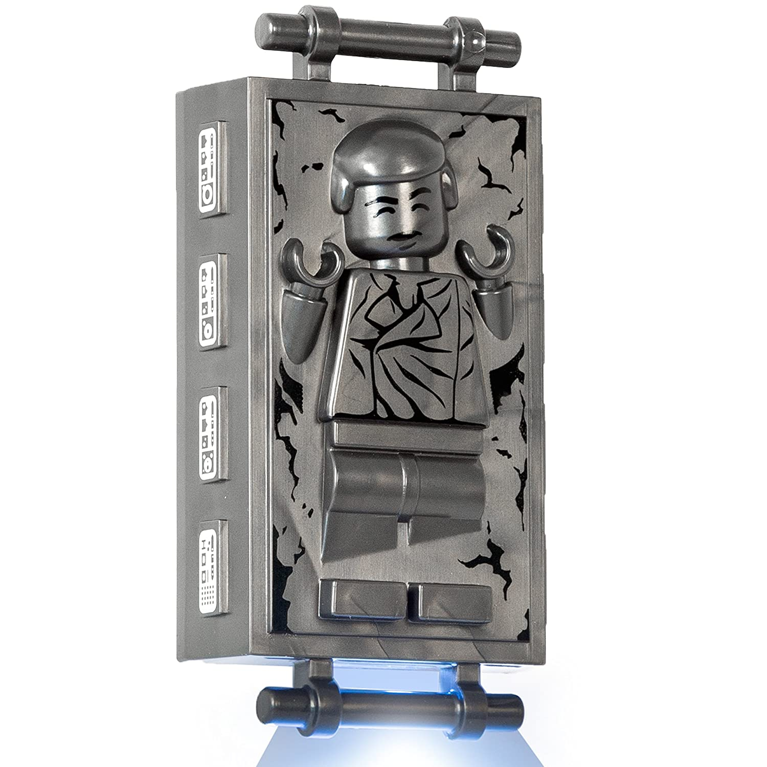Lego star wars han solo in carbonite led lite key chain - Vaisseau star wars han solo ...