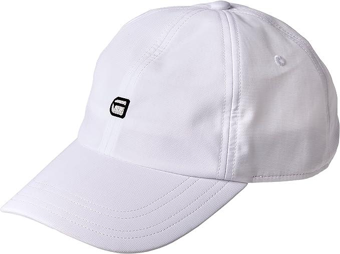 G STAR RAW Avernus Baseball Cap WMN Casquette, Blanc (White
