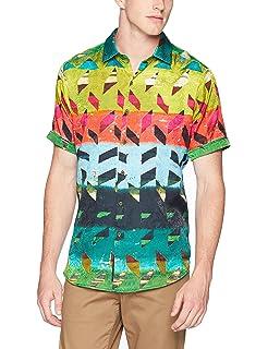 Robert Graham Mens Sakura Short Sleeve Classic Fit Shirt