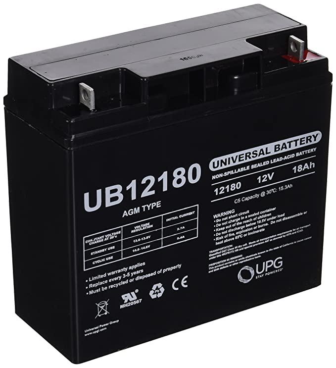 Lead Acid Battery >> Upg Ubcd5745 Sealed Lead Acid Batteries