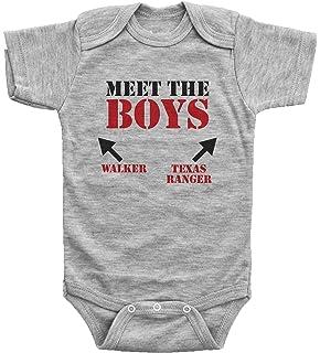 e26b397f Amazon.com: Walker Texas Ranger Funny Toddler Shirt / MEET THE BOYS ...