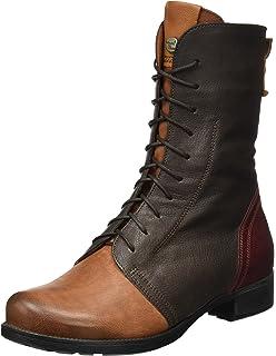 Think Damen Denk_181015 Desert Boots, Rot (Rosso/Kombi 72), 40 EU
