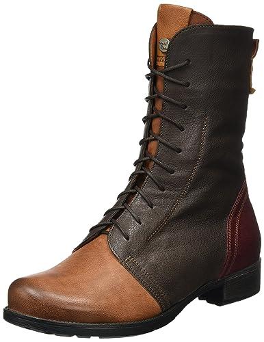 Think Damen Denk_181023 Desert Boots, Braun (Schoko/Kombi 46), 43 EU