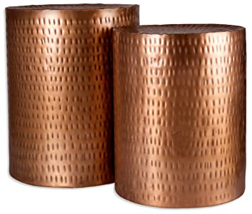 Amazoncom Home Essentials Beyond 72027 Copper Hammered Garden