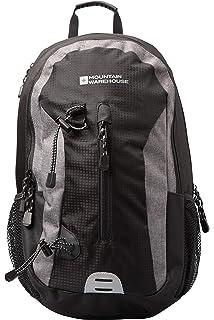 Mountain Warehouse Merlin 30L Backpack - Reflective Details, Womens   Mens  Rucksack, Padded Airmesh f34db41c7d