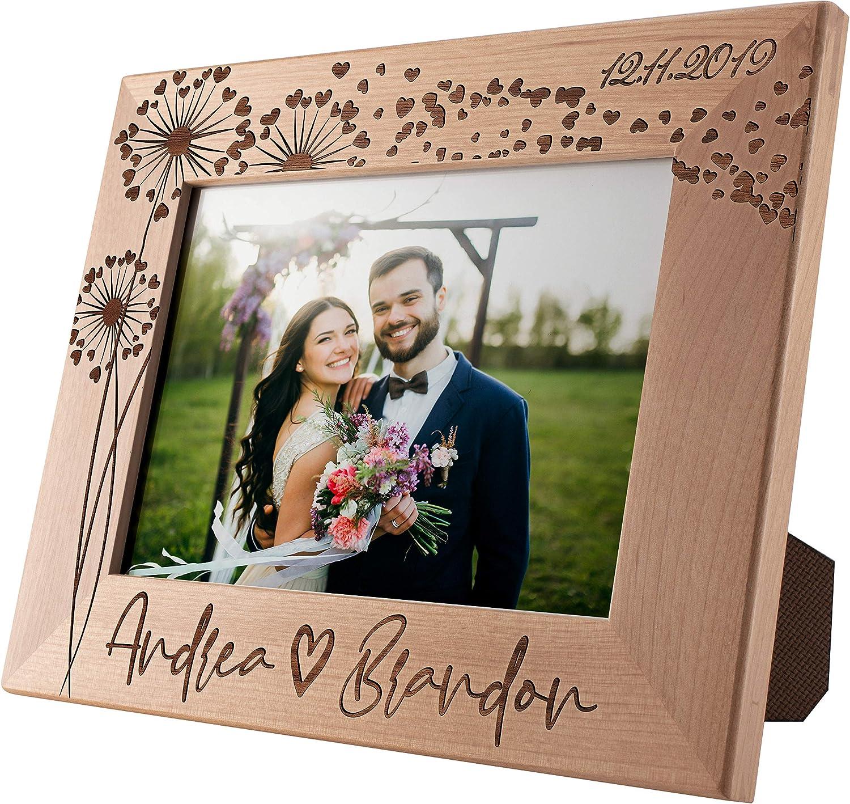 ENGAGEMENT Anniversary GIFT FRAME Valentine/'s dayPersonalised lovecouple Engage