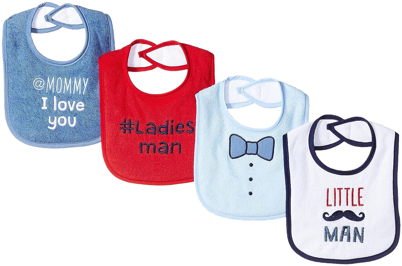 4 Pack Luvable Friends Baby Drooler Bib