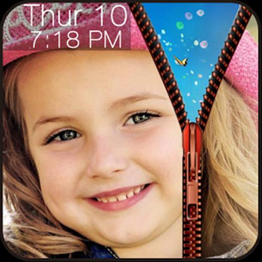 My Photo Zip Lock Screen (Screen Lock Next)