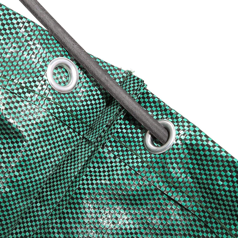 Alaskaprint 1x Gartenabfallsack Selbstaufstellend 272L 272 Liter Gartentasche Gartensack Abfallsack Laubsack Gartenabf/älle Gartenkorb verschlie/ßbar mit Deckel 380g Sack
