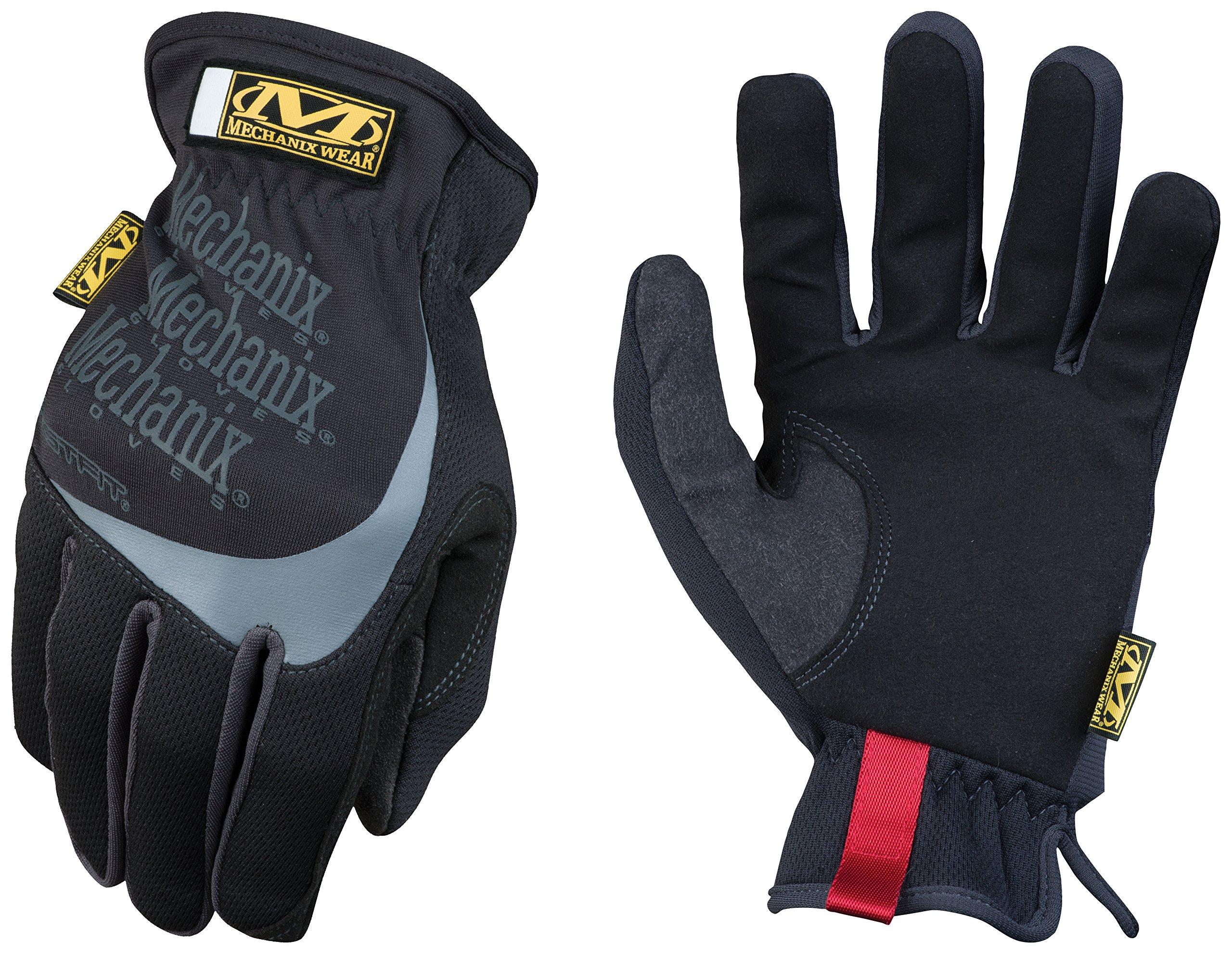 Mechanix Wear 185184 Slip-On Elastic-Cuff Mechanic's Glove Fast Fit Gloves, L by Mechanix Wear (Image #1)