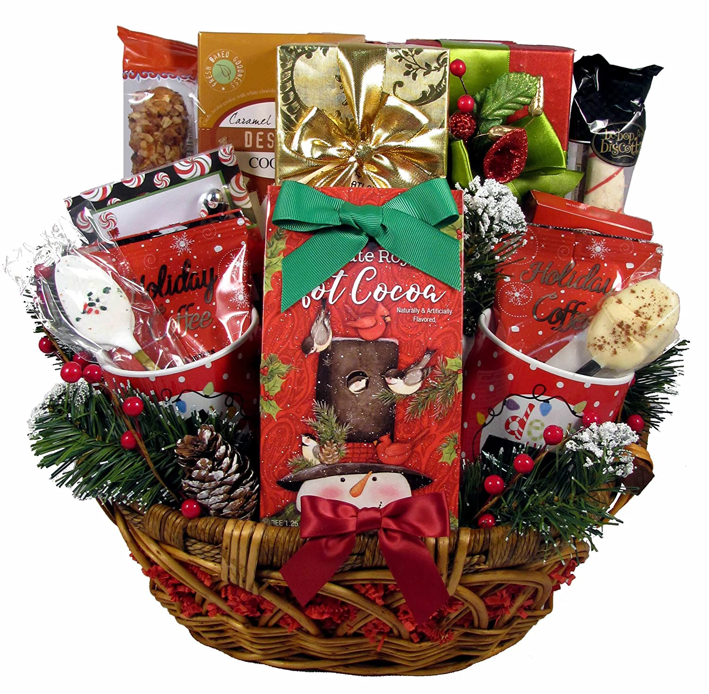 Amazon.com : Gift Basket Village - A Cozy Christmas Gift Basket ...
