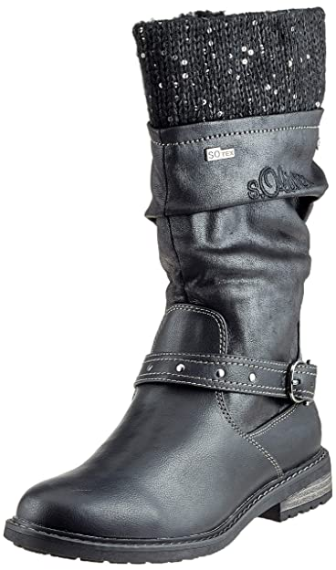 s.Oliver Mädchen 5-5-46603-21 001 Hohe Stiefel  Amazon.de  Schuhe ... 21cb299aac