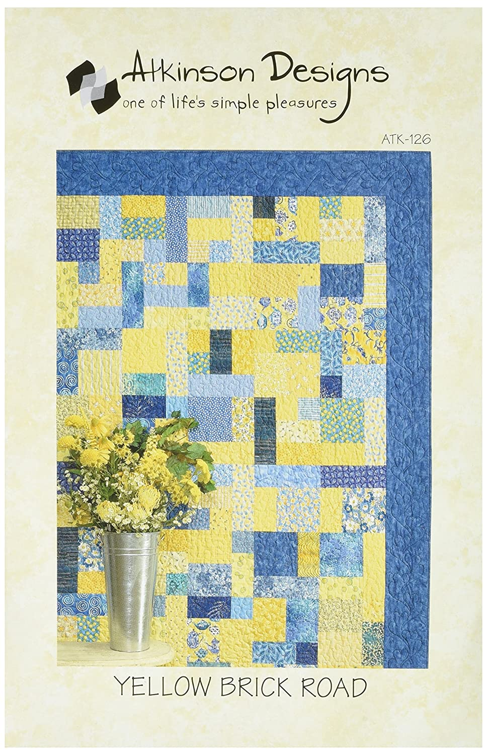Yellow Brick Road Quilt Pattern Free Simple Decorating