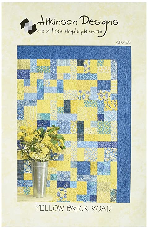 Amazon.com: Atkinson Design ATK126 Yellow Brick Road Pattern