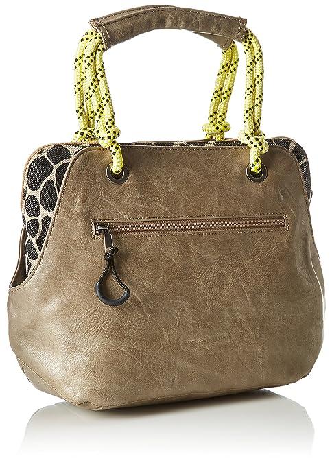 Tamaris Vivien Handbag, Pochette avec Passant pour Maintien AU Poignet Femme 14x24x36 cm (B x H x T)