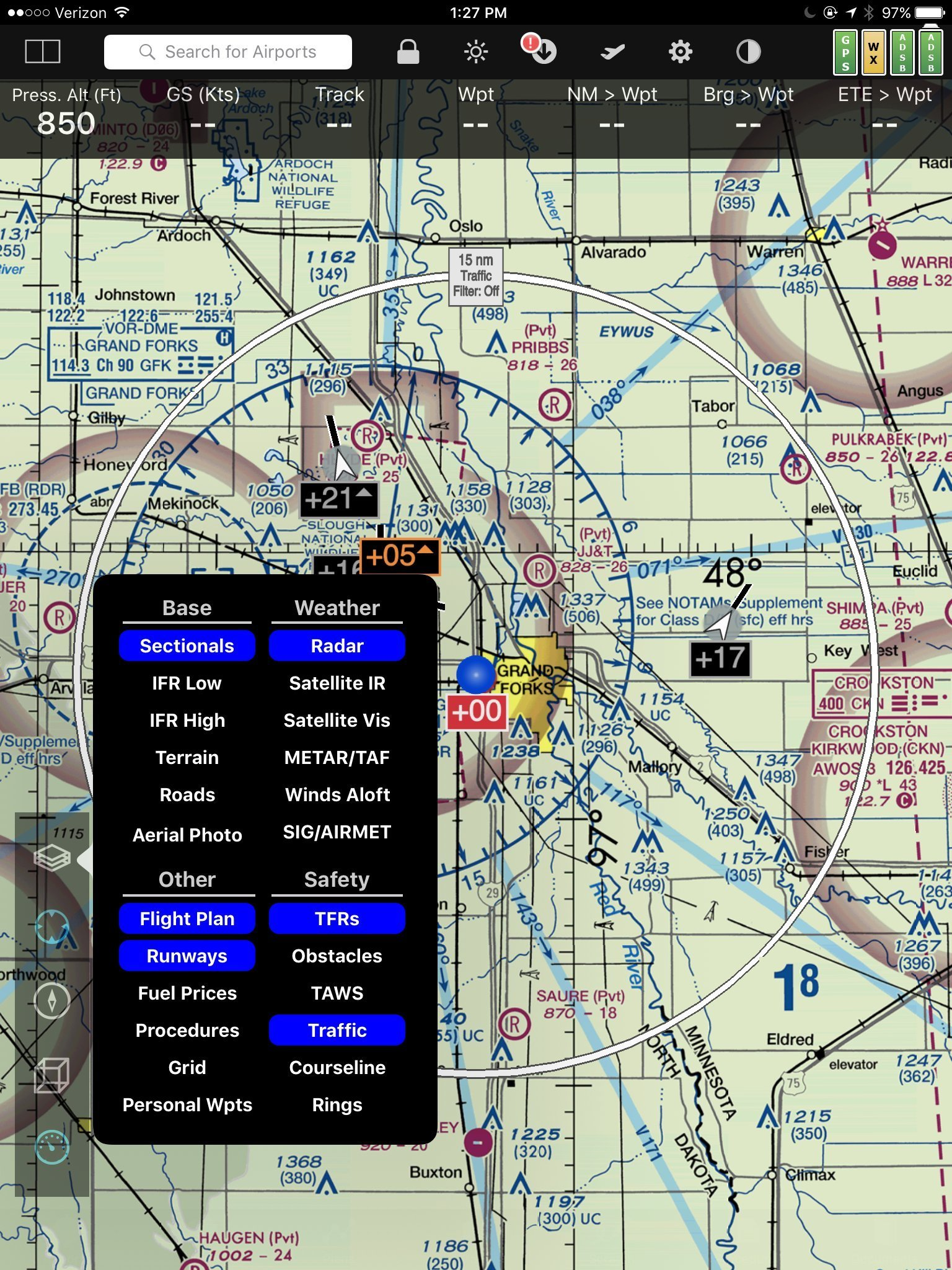 Assembled Stratux Dual Band ADS-B & Weather Receiver with AHRS WAAS GPS & Power Pack V3 by Stratux (Image #9)