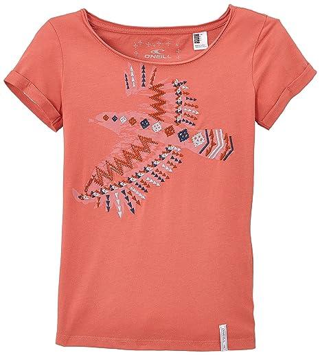 ONeill Lg Falcon S/slv Tee - Camisa/Camiseta para niña,