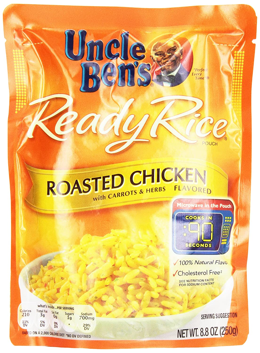 Uncle Ben's Ready Rice, Roasted Chicken, 8.8 oz