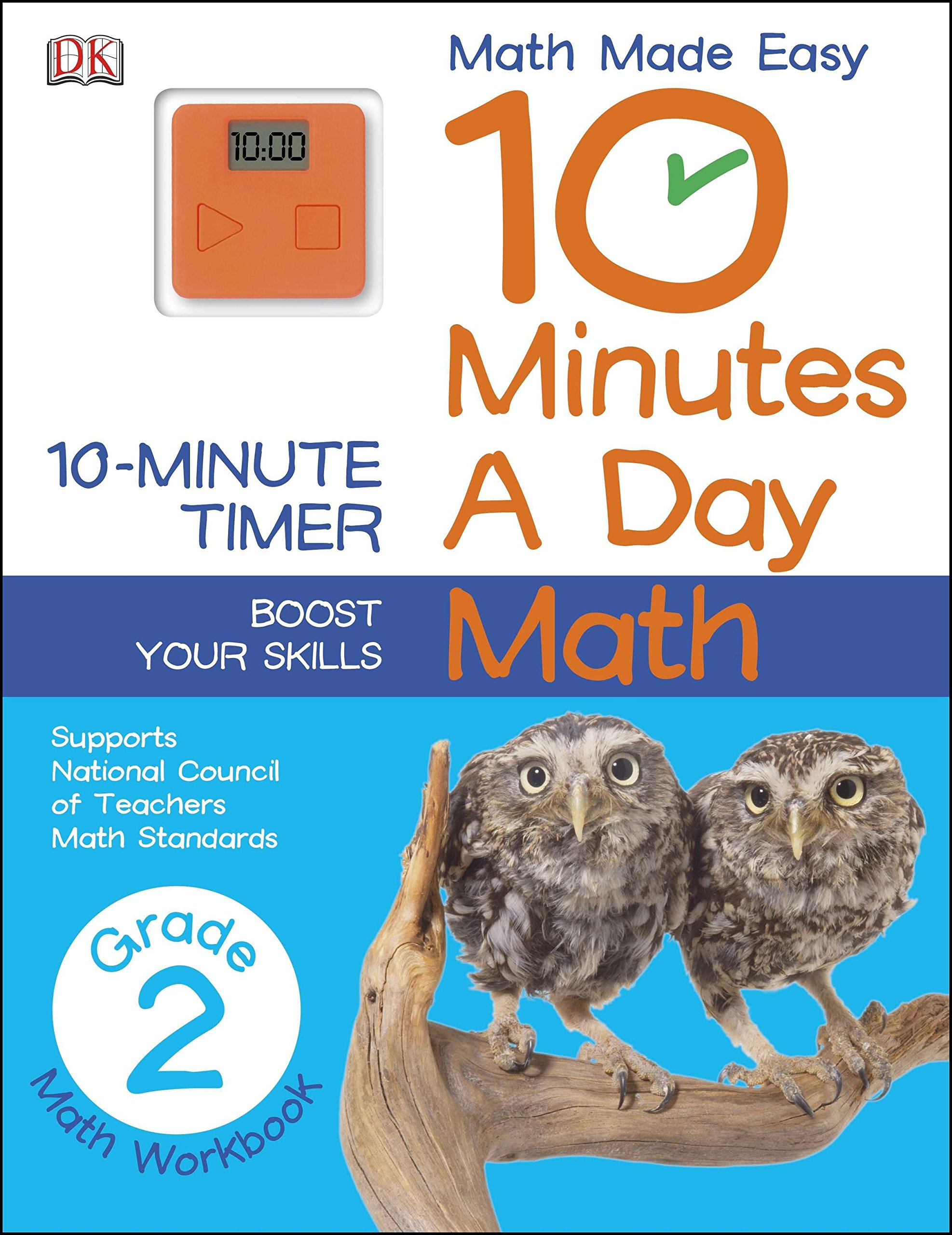 10 Minutes a Day: Math, Second Grade: DK: 9781465402318: Amazon.com ...