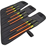 Greenlee 0153-01-INS Insulated Screwdriver Kit, 9-Piece