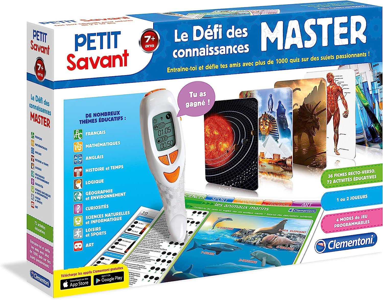 Clementoni 62338-D/éfi des connaissances Master-Jeu /éducatif