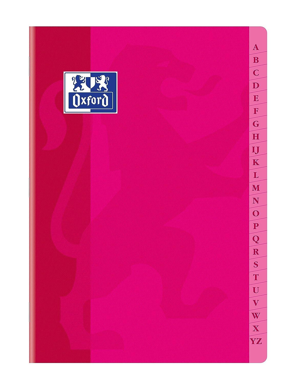 OXFORD - 1 Cahier Répertoire 21X29.7cm - 96pages - Quadrillé 5/5