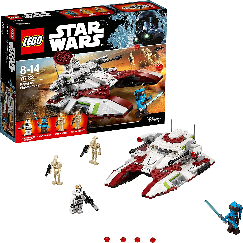 LEGO STAR WARS Star Wars - Republic Fighter Tank -75182: Amazon.es ...