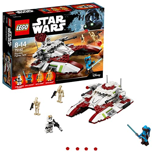 LEGO Star Wars - Republic Fighter Tank - 75182 - Jeu de Construction